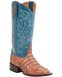 Lucchese - Lexie Leather Western Boot - Lyst