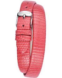Philip Stein - Women's Leather Watch Strap - Lyst