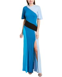 Prabal Gurung Lena Maxi Dress - Blue