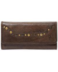 Frye - Leather Western Long Wallet - Lyst