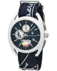 Maserati Unisex Trimarano Watch - Blue