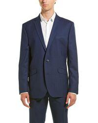 Kenneth Cole Reaction The Ready Flex Suit - Blue