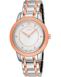 Le Vian Stainless Steel Diamond Watch - Multicolour
