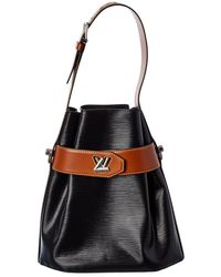 Louis Vuitton Black Epi Leather Twist