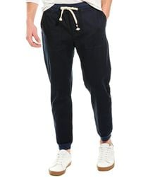 Sol Angeles Essential Twill Jogger - Blue