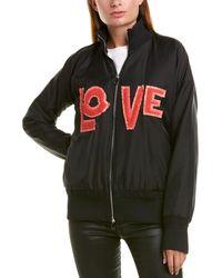 Moncler Lacaire Love Bomber Jacket - Black