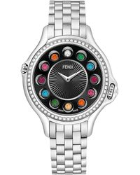 Fendi Women's Crazy Carats Diamond Watch - Metallic