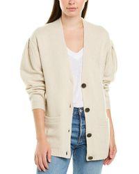 Brochu Walker Wool-blend Cardigan - Natural
