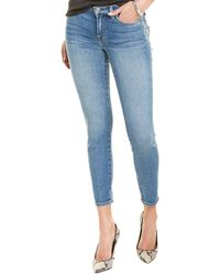7 For All Mankind 7 For All Mankind The Ankle Beau Blue Super Skinny Jean