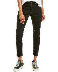 Pistola Nico Celestial Slate Skinny Leg Jean - Black