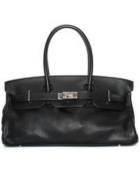 Hermès Black Clemence Leather Birkin Phw