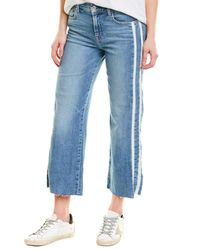 7 For All Mankind - 7 For All Mankind Alexa Slvt Crop - Lyst