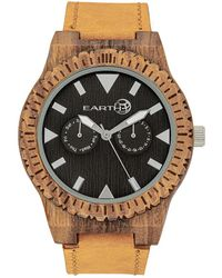 Earth Wood Unisex Hyperion Watch - Multicolor
