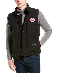 Canada Goose Freestyle Crew Vest - Black