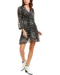 The Kooples Coromandel A-line Dress - Black