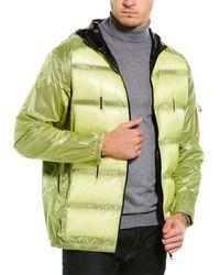 Moncler X Craig Hooded Padded Jacket - Green