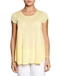 Bobeau T-shirt - Yellow