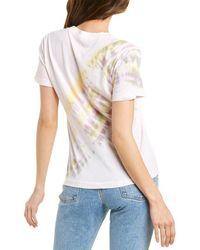 Dolan Tie-dye T-shirt - Pink