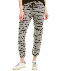 Monrow Tiger Sweatpant - Grey