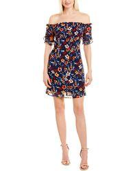 Cece by Cynthia Steffe Mini Dress - Blue