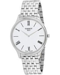 Tissot Men's Tradition Thin Watch - Metallic