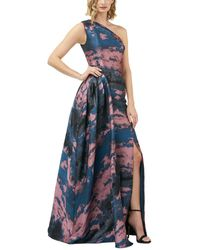 Kay Unger Noelle Gown - Blue