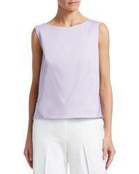Zac Posen Shell Top - Purple
