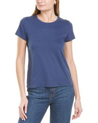Lafayette 148 New York The Modern T-shirt - Blue