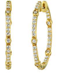 Le Vian ? 14k Honey Gold? 0.74 Ct. Tw. Diamond Earrings - Metallic