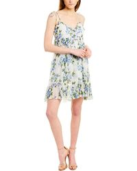The Kooples Crinkle Antique Flowers Dress - White