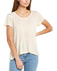 Wilt Baby High-low Linen-blend T-shirt - Yellow