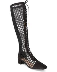 Dior Naughtily-d Suede Boot - Black