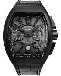 Franck Muller Vanguard Watch - Black