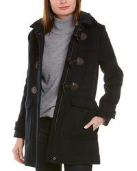 Brooks Brothers Wool-blend Coat - Blue