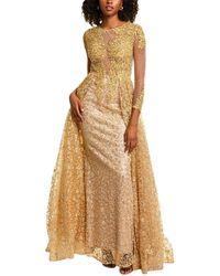 Mac Duggal A-line Gown - Metallic