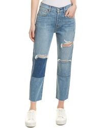 7 For All Mankind 7 For All Mankind Josefina Blue Ankle Jean