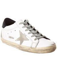 Golden Goose Superstar Leather Trainer - White