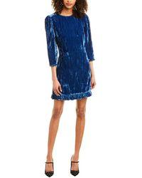 Shoshanna Rula Dress - Blue