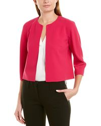 Michael Kors Wool-blend Jacket - Pink