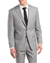 Austin Reed | Classic Fit Suit With Flat Front Pant | Lyst