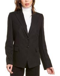 ESCADA Barlon Linen Jacket - Black