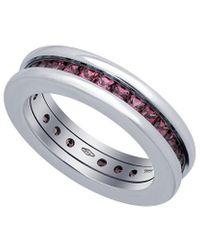 BVLGARI Bulgari B.zero1 18k 1.10 Ct. Tw. Garnet Ring - Metallic
