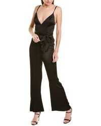 Fame & Partners Fame And Partners The Benton Jumpsuit - Black