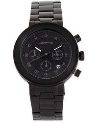 Morphic M78 Series Chronograph Quartz Black Dial Mens Watch