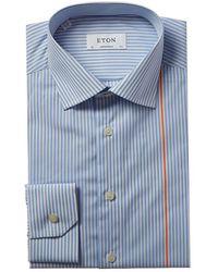 Eton of Sweden Contemporary Fit Dress Shirt - Blue