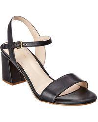 Cole Haan Josie Leather Sandal - Black