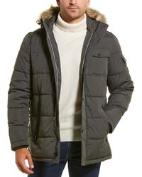Nautica Quilted Coat - Grey