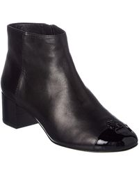 Tory Burch - Jolie Leather Ankle Boot - Lyst
