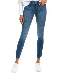 DL1961 Premium Denim Florence Barbon Mid-rise Instasculpt Skinny Leg Jean - Blue