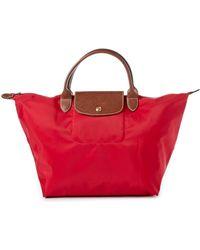 Longchamp - Le Pliage Large Shoulder Tote Bag - Lyst